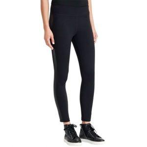 Lauren Ralph Lauren Black pants w/leather Trim